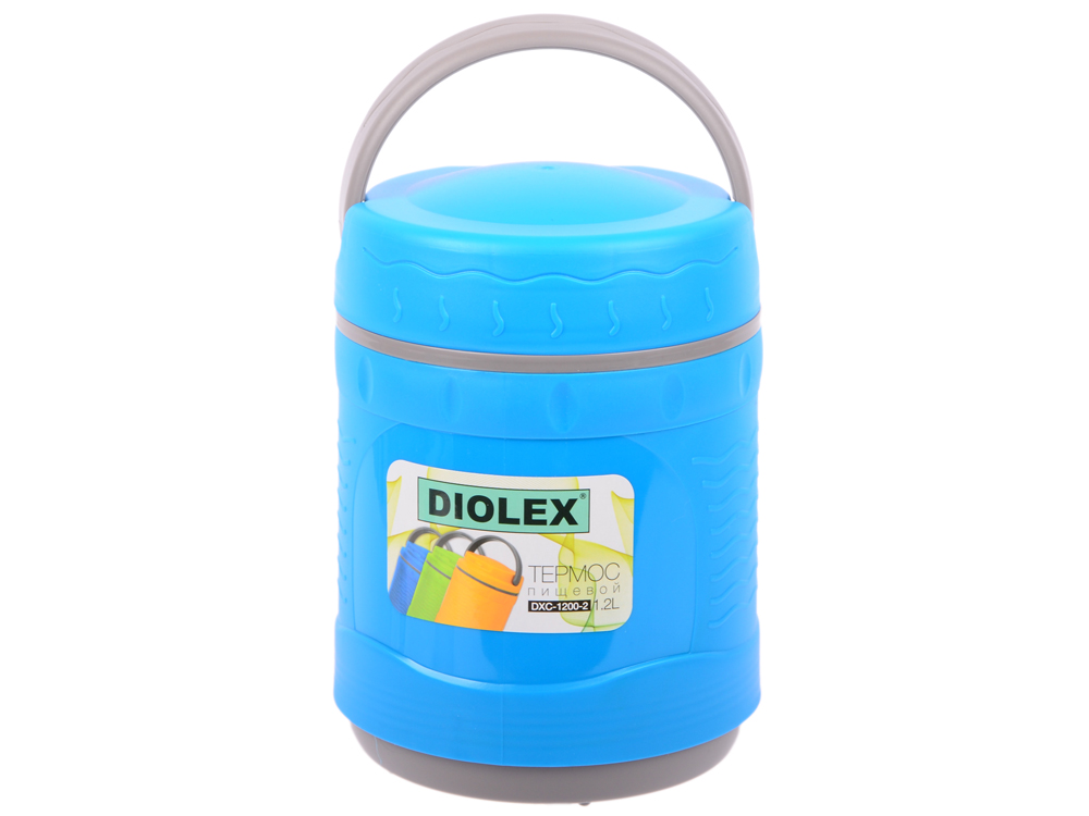 Термос Diolex DXС-1200-2-B 1.2л синий термос diolex 1 2l dxc 1200 2 b