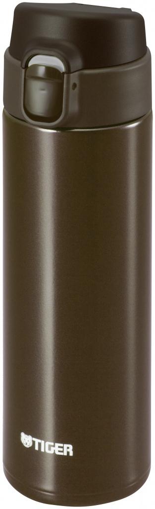 Термокружка Tiger MMY-A036 Brown 0,36 л (откидная крышка на кнопке, нержавеющая сталь, цвет коричневый) термокружка tiger mmy a036 brown 0 36 л 1183532