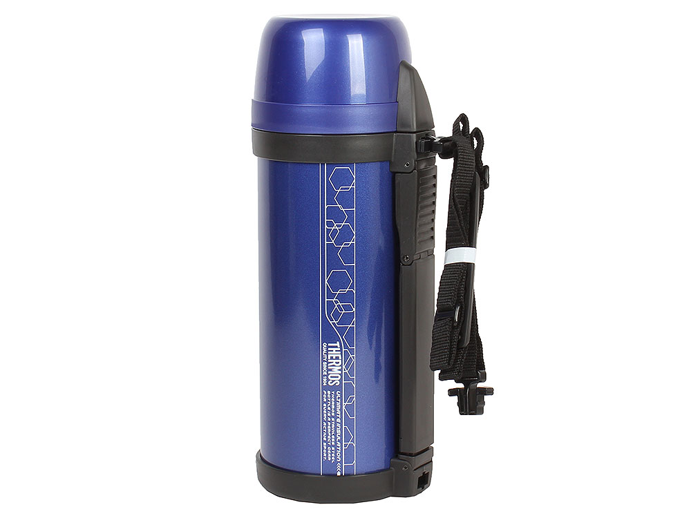 Фото Термос Thermos FDH-2005 MTB Vacuum Inculated Bottle, 2 л (цвет синий)
