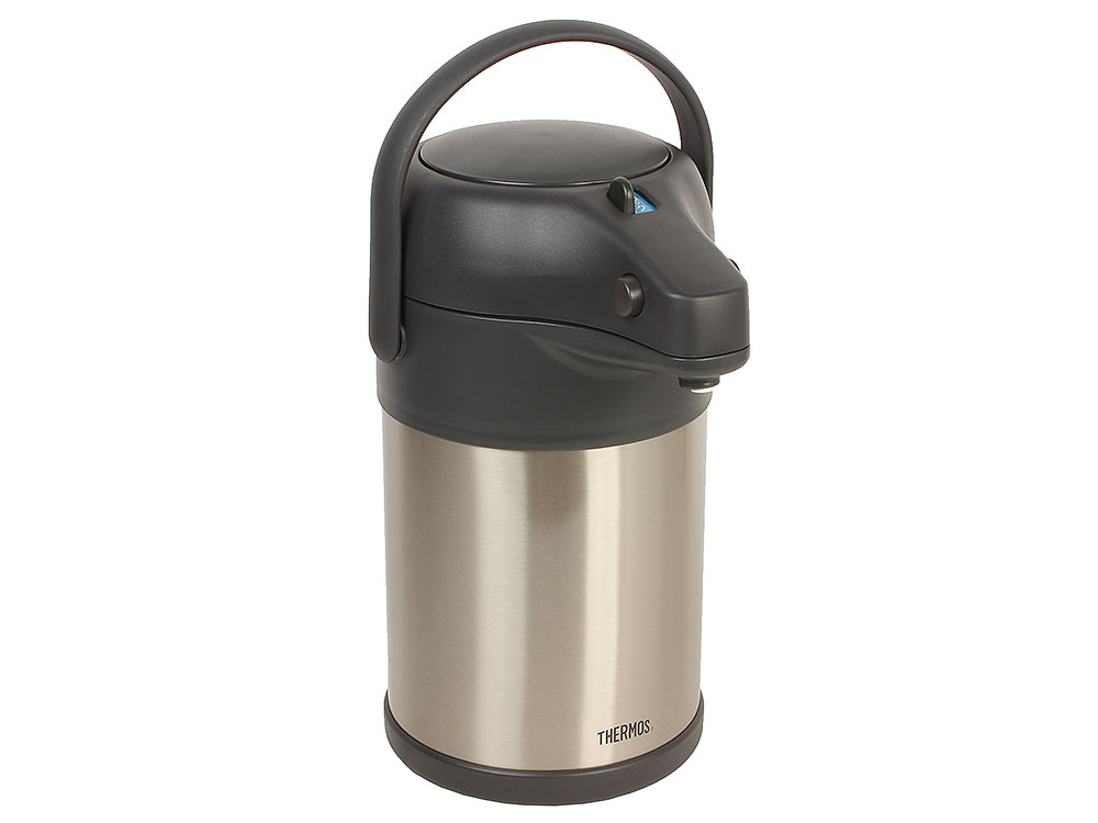 Термос с пневмонасосом Thermos TAH-3000, 3 л (цвет - сталь) термосумки thermos сумка термос wine cooler for 3 bottle 40 л