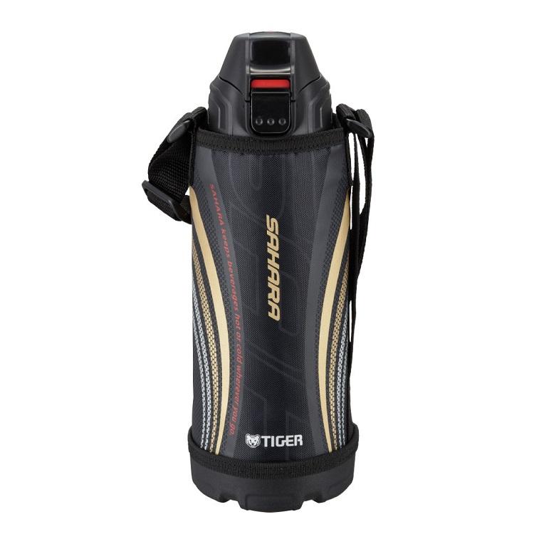 Термос спортивный Tiger MBO-E080 Black, 0.8 л нержавеющая сталь, цвет крышки черный, цвет термоса стальной