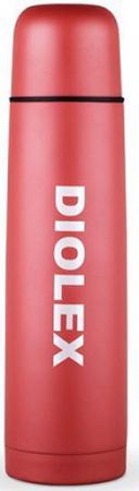 Термос Diolex DX-500-2-C 0.5л цветной/красный синий какао