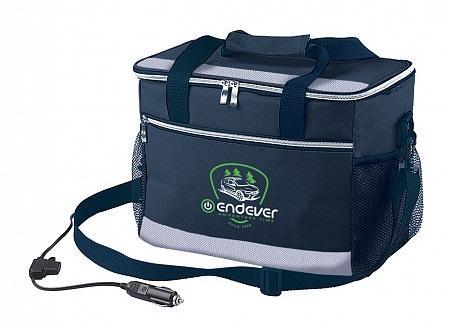 Сумка-холодильник Endever VOYAGE-005 мощность 48 Вт, объем 14 л,серый/черный, питание DC 12 B. сумка холодильник endever voyage 002