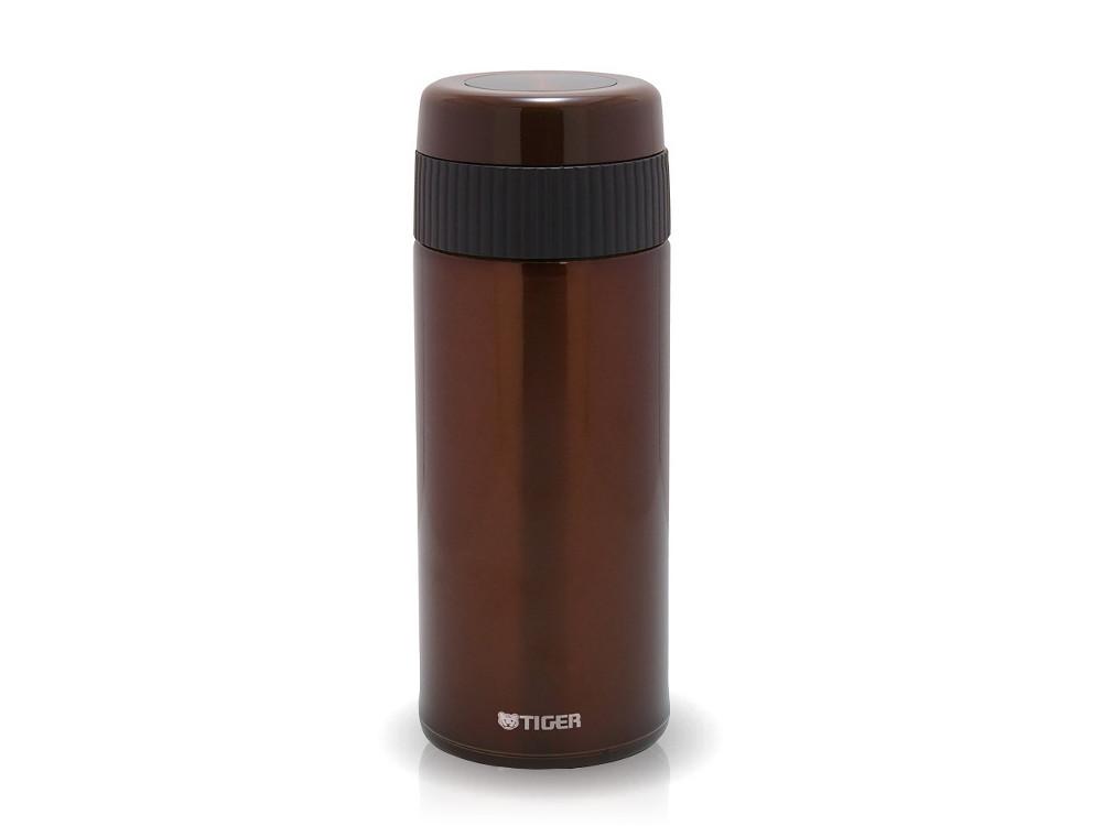 Термокружка Tiger MMR-A045 Brown, 0.45 л (нержавеющая сталь, цвет коричневый, с фильтром для чая, горловина 4,7 см)