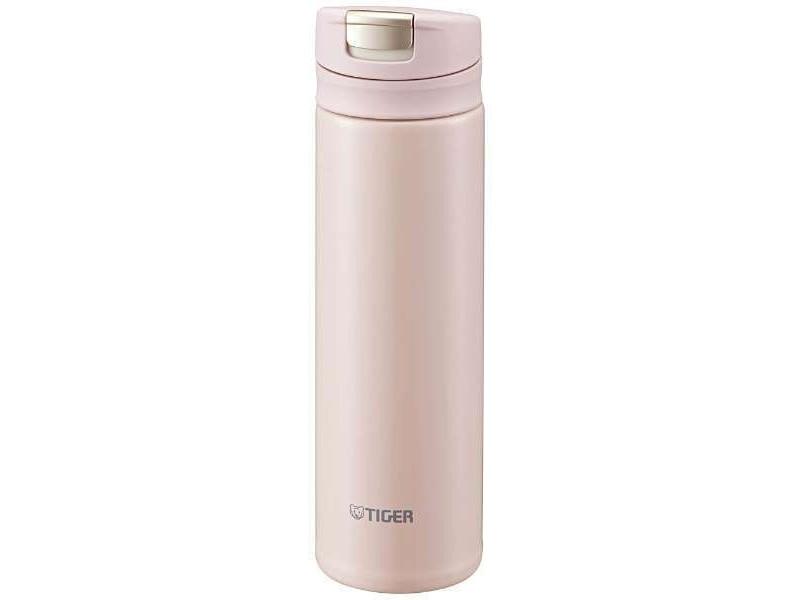 Термокружка Tiger MMX-A030 Powder Pink 0,3 л (цвет пудрово-розовый, откидная крышка на кнопке, нержавеющая сталь) термокружка tiger mmp s030 champagne gold 0 3 л нержавеющая сталь цвет шампанского