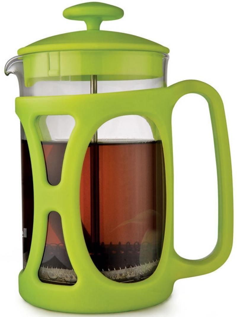Френч-пресс Maxwell Artlife ML-724(G) 0.6 л пластик/стекло зелёный