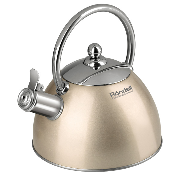 Чайник Rondell RDS-103 2 л металл золотистый от OLDI