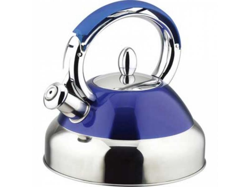 Чайник Bekker BK-S429 2.7 л нержавеющая сталь серебристый синий от OLDI