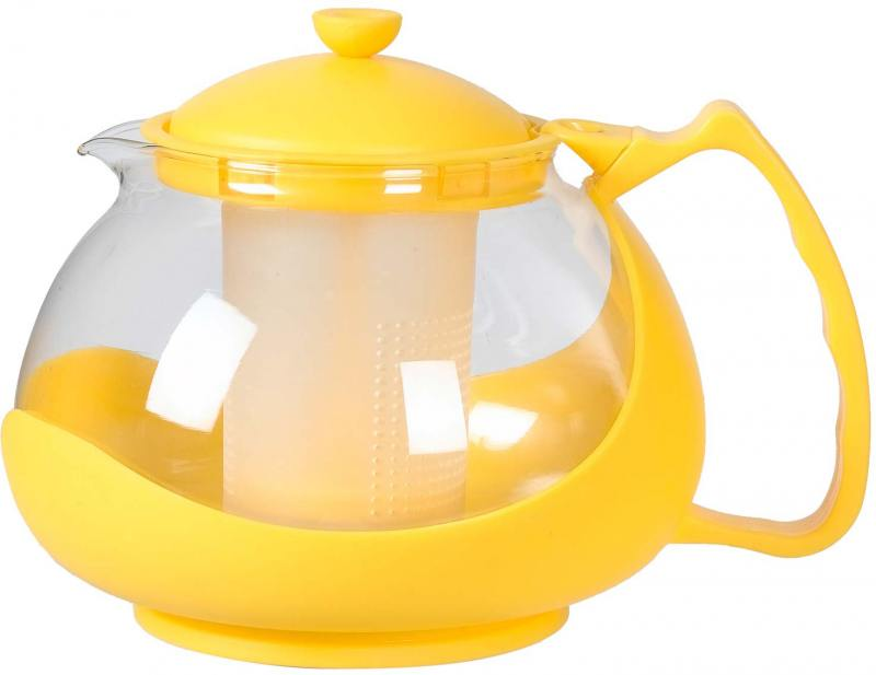 Чайник заварочный Bekker BK-310 1.25 л пластик/стекло разноцветный чайник заварочный bekker 303 вк серебристый 0 9 л металл пластик