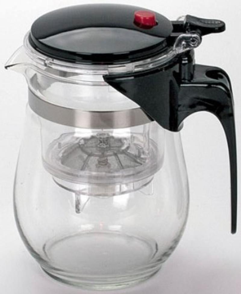Чайник заварочный Mayer&Boch 4025-MB 0.5 л стекло чёрный