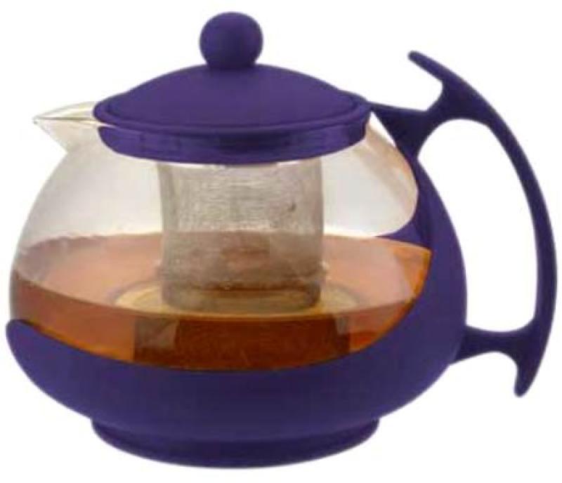 Чайник заварочный Bekker 308-ВК 1.25 л пластик/стекло фиолетовый чайник заварочный bekker 308 вк 1 25 л пластик стекло фиолетовый