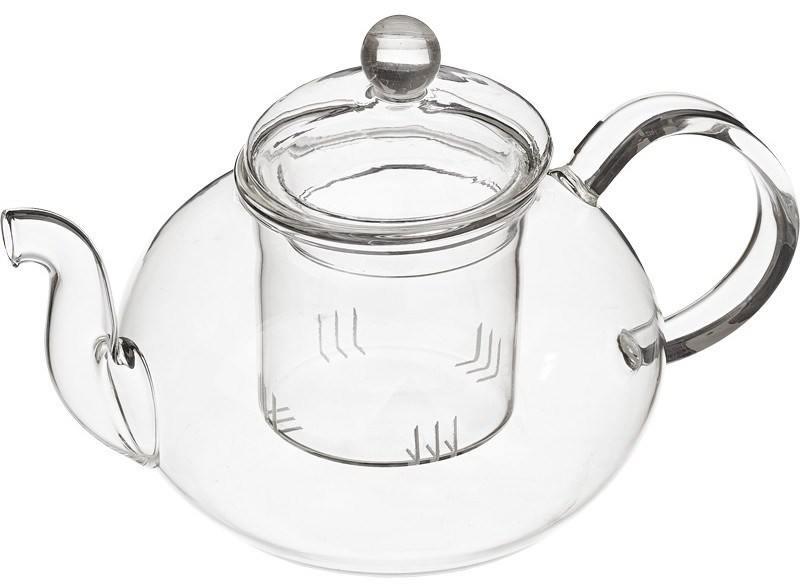 Чайник заварочный Mayer&Boch 24935-МВ 0.65 л стекло прозрачный