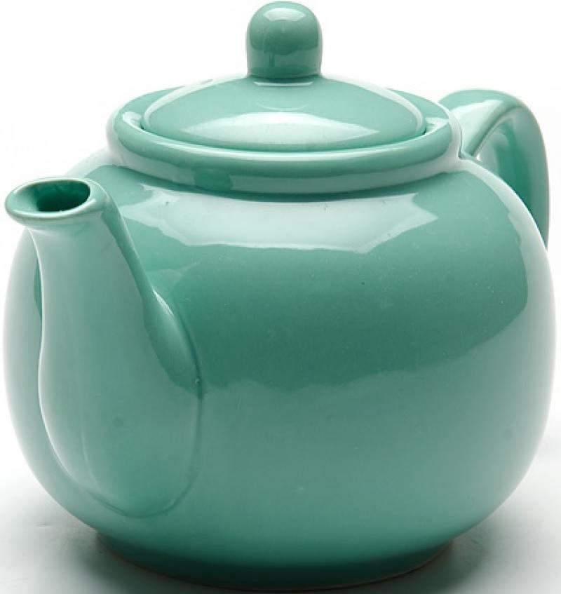 Чайник заварочный Loraine LR-24867 0.94 л керамика зелёный