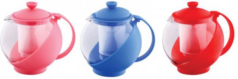 Чайник заварочный Wellberg WB-325 0.75 л стекло цвет в ассортименте