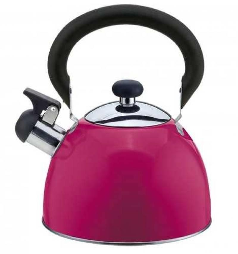 Чайник Катунь КТ-106А 2.5 л нержавеющая сталь пурпурный чайник катунь кт 106f бирюзовый 2 5 л нержавеющая сталь