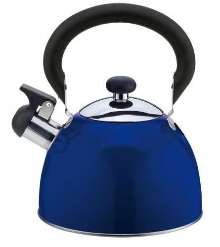 Чайник Катунь КТ-106E 2.5 л нержавеющая сталь индиго чайник катунь кт 106f бирюзовый 2 5 л нержавеющая сталь