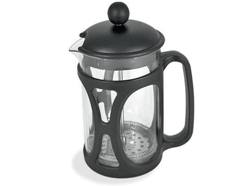 Френч-пресс Tima Маффин PM-350 0.35 л пластик/стекло чёрный френч пресс tima бисквит pb 350 0 35 л металл стекло серебристый