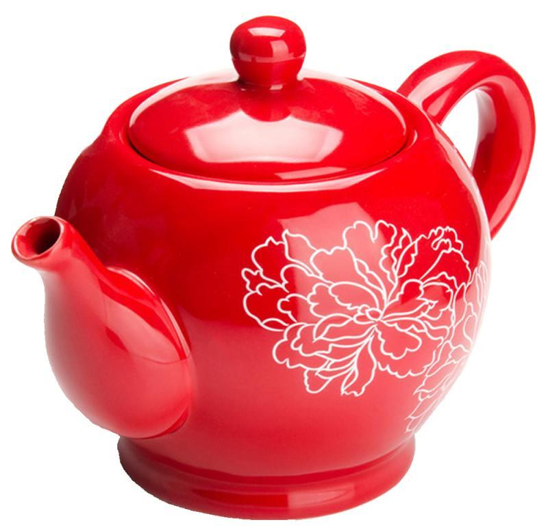 Чайник заварочный Loraine LR-25838 0.95 л доломит красный чайник заварочный loraine lr 23768 0 7л белый с рисунком ромашки