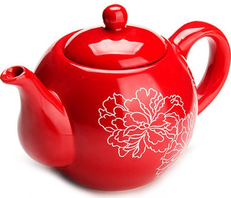 Чайник заварочный Loraine LR-25839 0.95 л красный loraine заварочный чайник loraine 23057 желтый 0 75 л q2fvygi