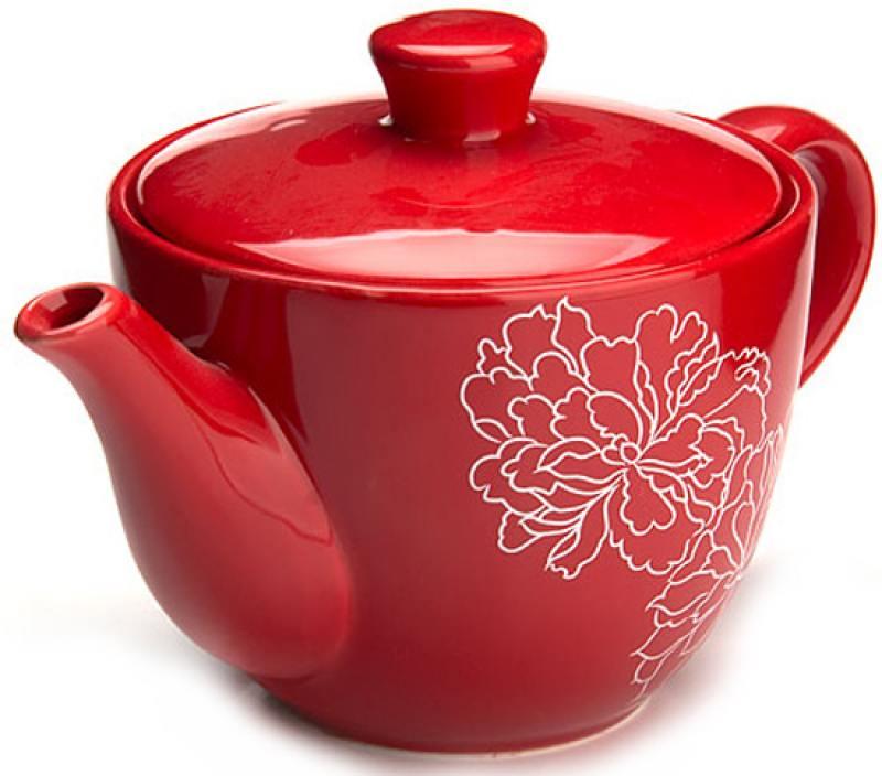 Чайник заварочный Loraine LR-25840 0.90 л доломит красный