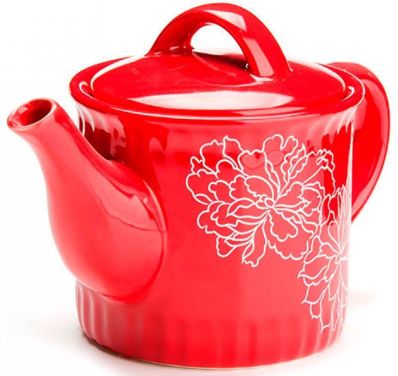 Чайник заварочный Loraine LR-25841 0.73 л доломит красный loraine заварочный чайник loraine 24824 0 92 л ex8mvpn