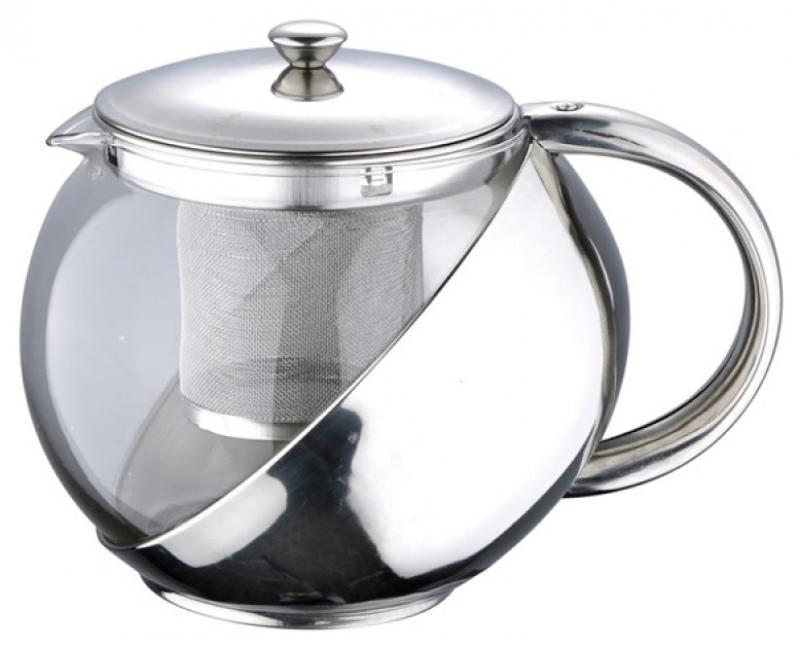 Чайник заварочный Wellberg WB-6874 прозрачный 0.8 л
