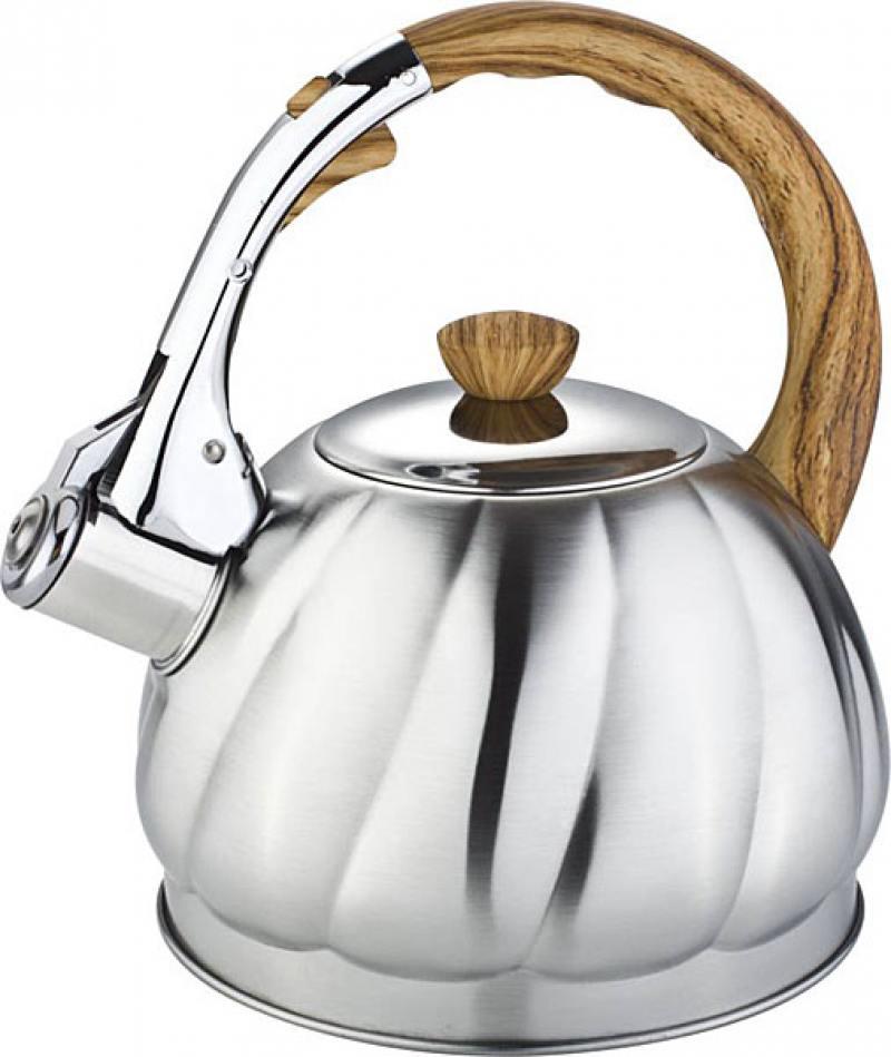 Чайник Bekker Premium BK-S603 серебристый 2 л нержавеющая сталь чайник bekker bk s315 2 5 л нержавеющая сталь серебристый