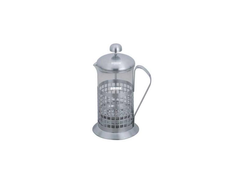 Френч-пресс Bekker BK-364 0.6 л металл/стекло серебристый френч пресс bekker deluxe 0 6 л bk 364