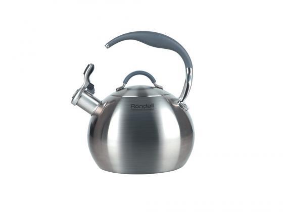 Картинка для Чайник Rondell Ball RDS-495 3 л нержавеющая сталь серебристый