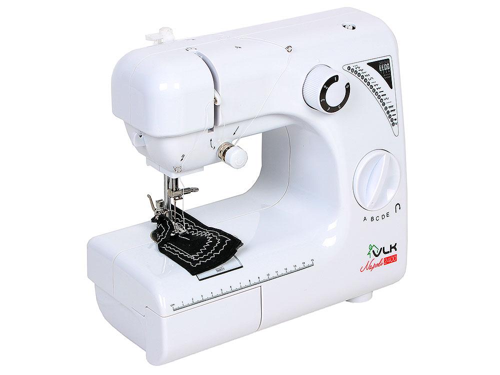 Швейная машина VLK Napoli 2400 электромеханическая швейная машина vlk napoli 2400