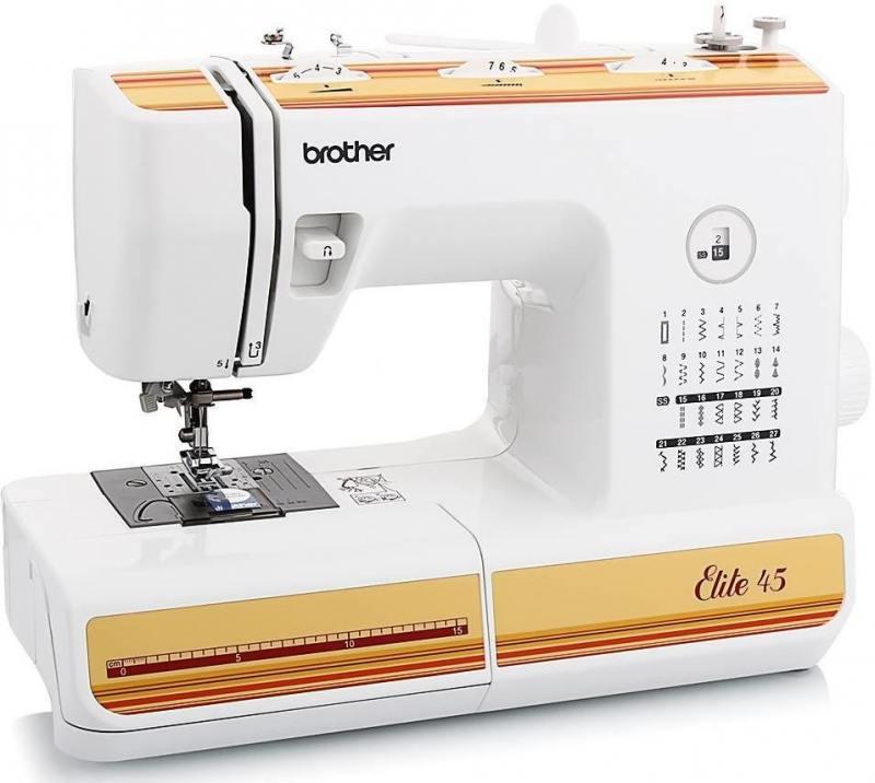 Швейная машина Brother Elite 45 белый от OLDI