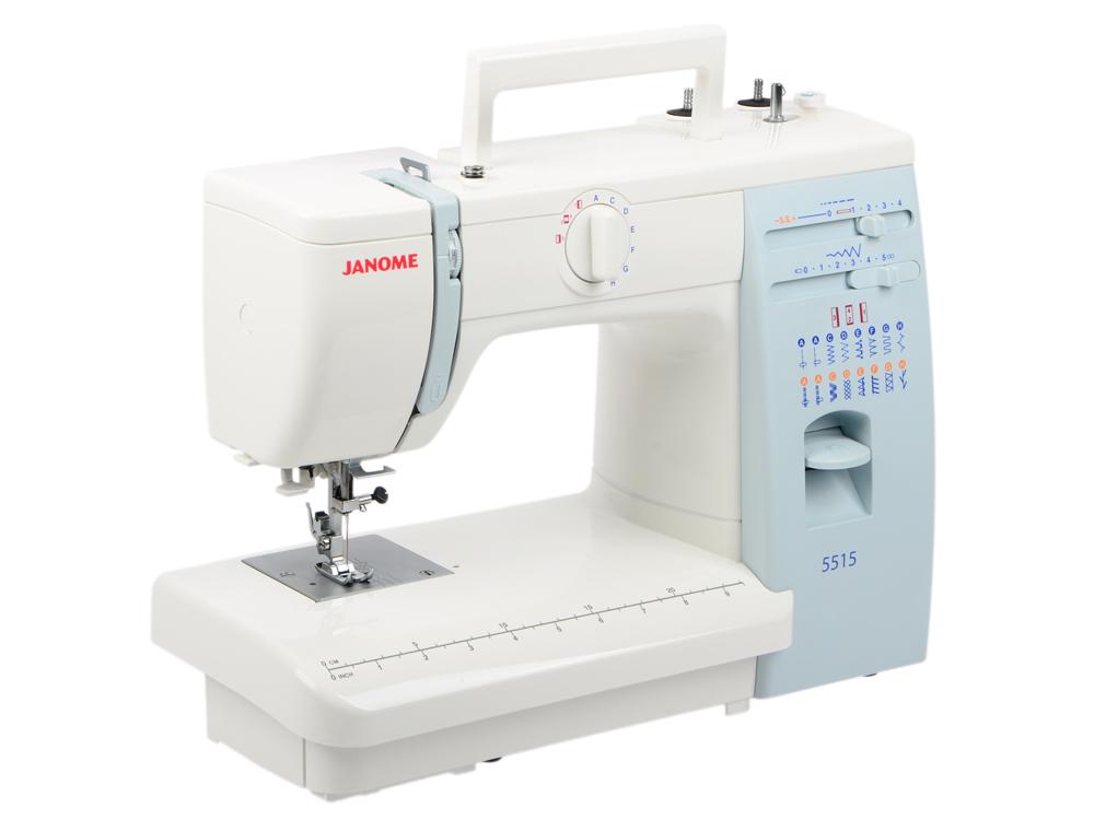 Швейная машина Janome 5515 швейная машина janome skyline s3