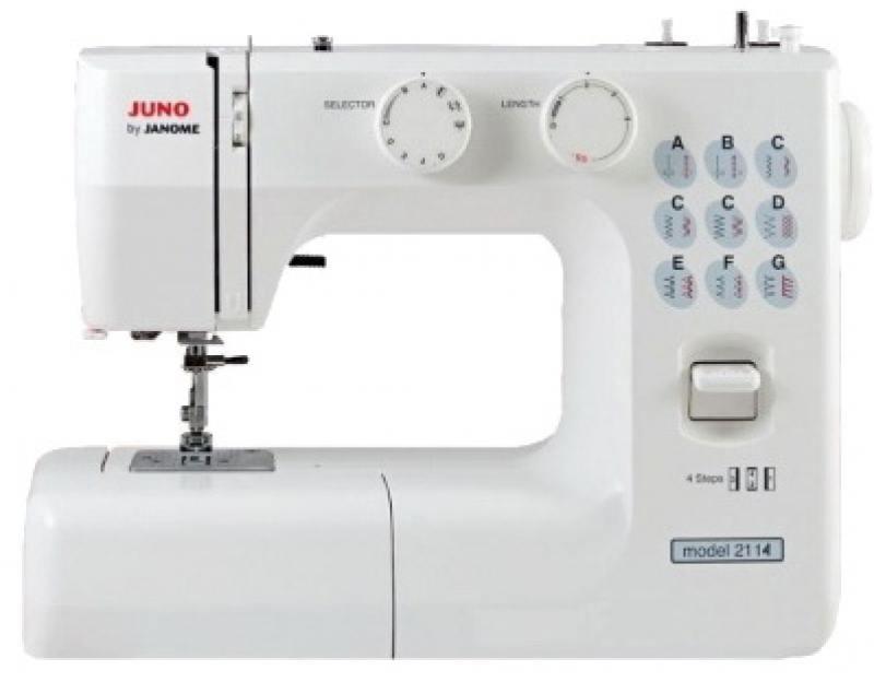 Швейная машина Janome Juno 2114 белый швейная машинка janome sew mini deluxe