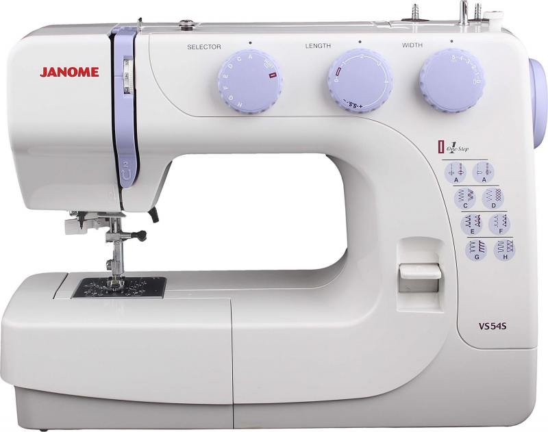Швейная машина Janome VS 54S белый [available from 10 11] janome sewing machine janome jk 220s