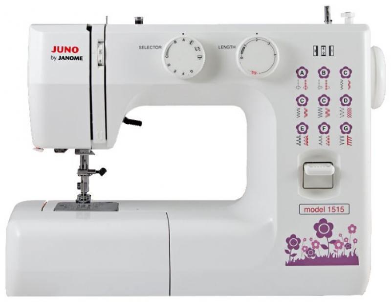 Швейная машина Janome Juno 1515 белый