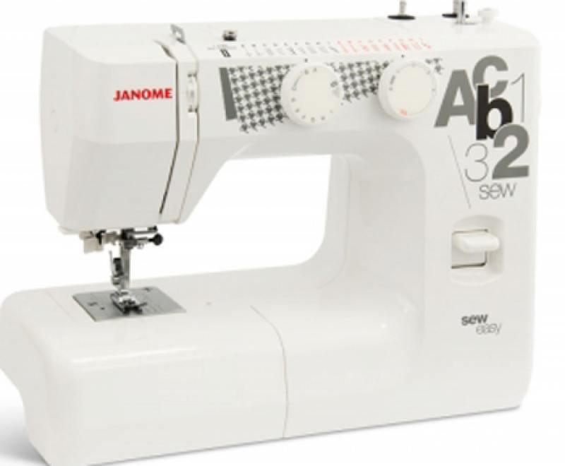 Швейная машина Janome sew easy белый швейная машина janome sew dream 510 белый