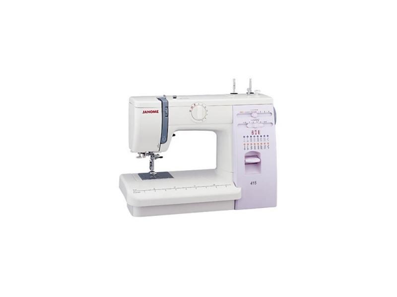 Швейная машина Janome 415 белый цена 2017