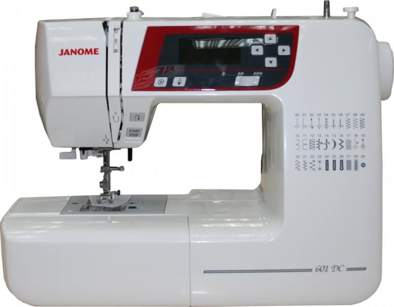 Швейная машина Janome 601 DC белый цена