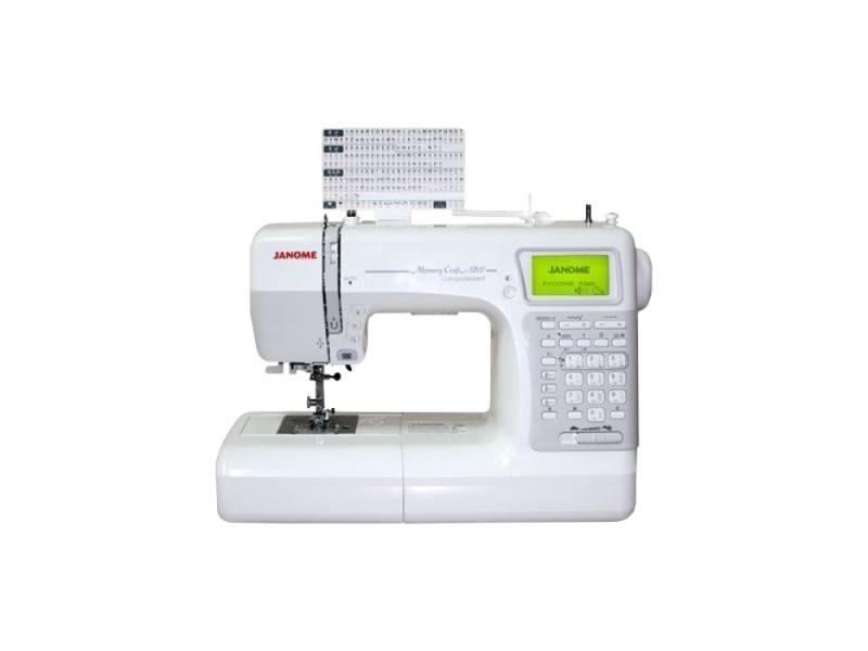 Швейная машина Janome Memory Craft 5200 белый janome horizon memory craft 8200 qc