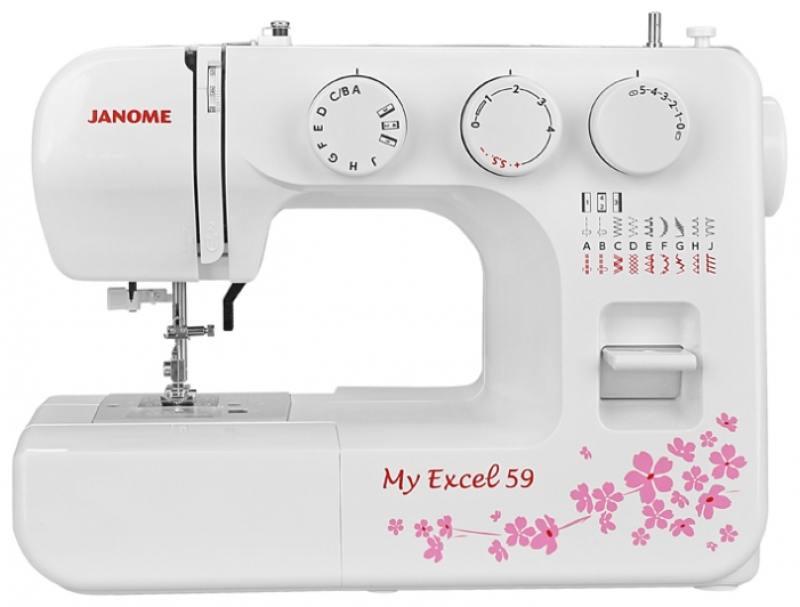 Швейная машина Janome MX 59 белый