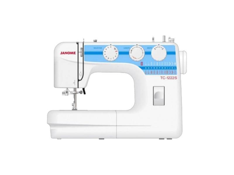 Швейная машина Janome TC 1222S белый цена 2017