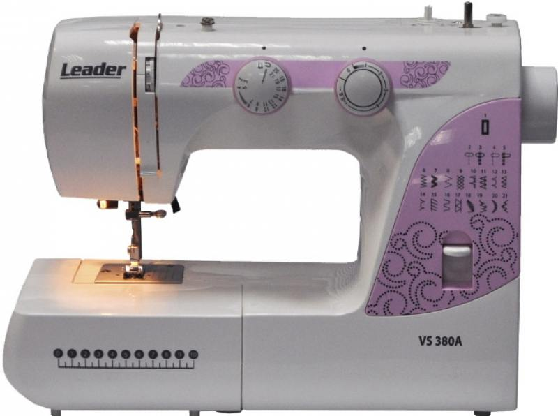 Швейная машина Leader VS380A белый