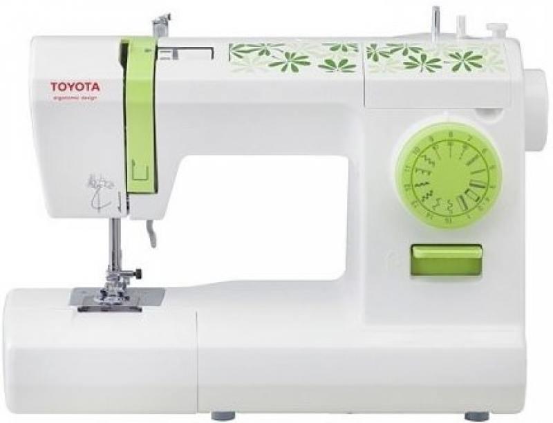 Швейная машина Toyota ECO 15CG бело-зеленый