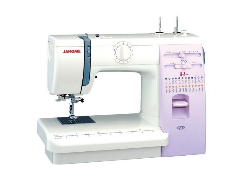 Швейная машина Janome 423S швейная машинка janome sew mini deluxe