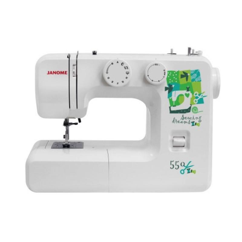 Швейная машина Janome 550 белый цены онлайн