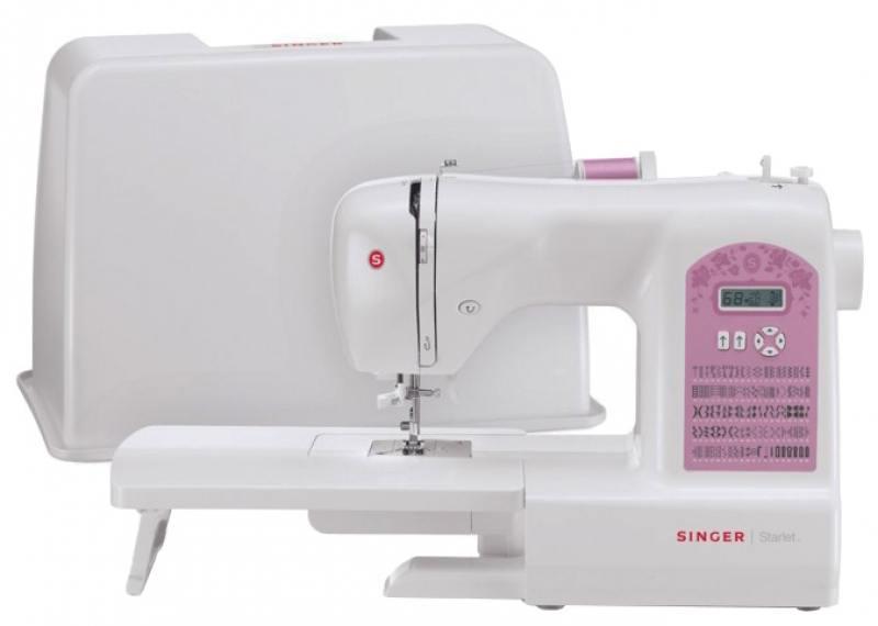 Швейная машина Singer Starlet 6699 белый [супермаркет] джингдонг сингер singer швейная машина бытовой электрический многофункциональный 8280a