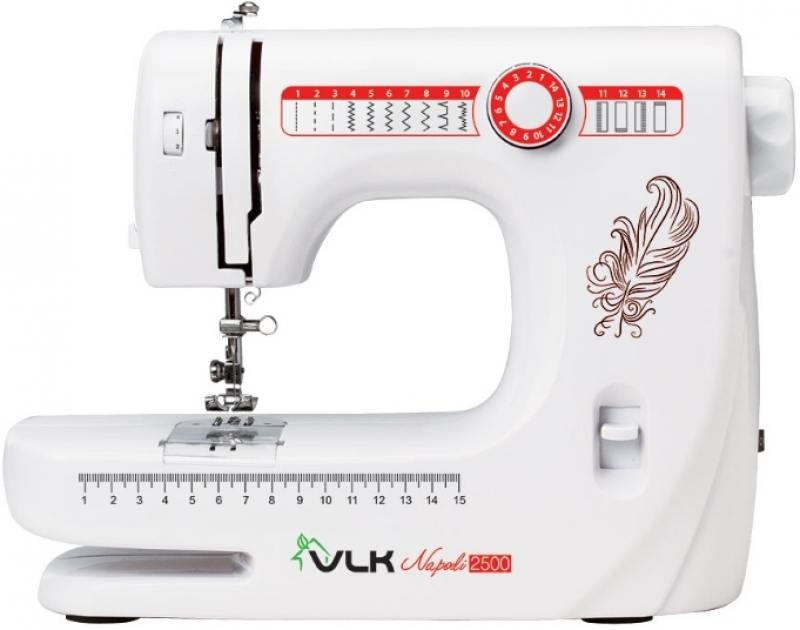 Швейная машина VLK Napoli 2500 белый оверлок kromax vlk napoli 2900