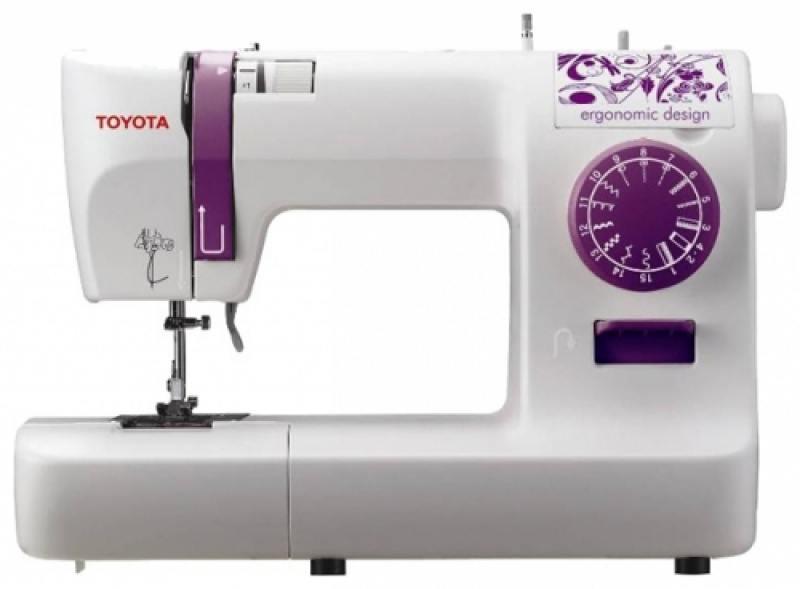 Швейная машина Toyota ECO 15A бело-розовый