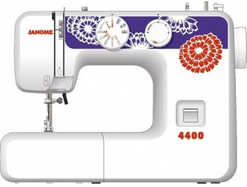 Швейная машина Janome 4400 белый швейная машинка janome sew mini deluxe
