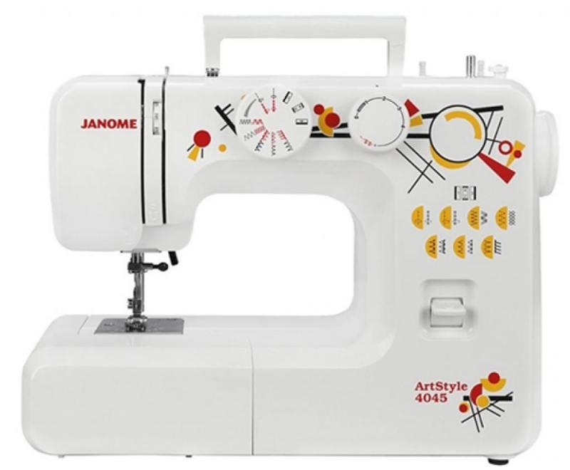 Швейная машина Janome ArtStyle 4045 белый